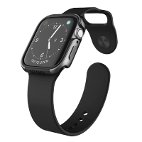 Чехол X-Doria Defense Edge для Apple Watch 44 мм Charcoal